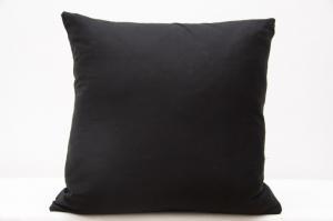 DomTextilu Dekoračné obliečky na vankúše čiernej farby 40x40 cm 4180-124436