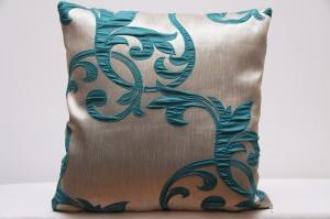 DomTextilu Dekoračné obliečky na vankúše s tyrkysovým motívom 45x45 cm 4706-124455