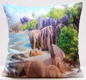 DomTextilu Farebné obliečky na vankúš s motívom slnečnej pláže 40 x 40cm 3132-124134