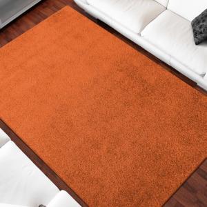 DomTextilu Jednofarebný koberec oranžovej farby 26663-154803