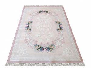 DomTextilu Jemný ružový koberec s nízkym vlasom 19710-179592