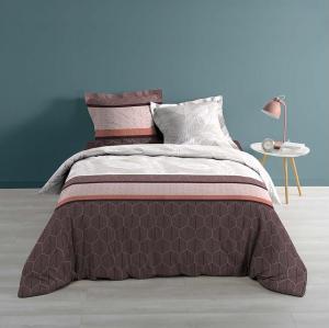 DomTextilu Kalitná posteľná obliečka v hnedej farbe 220 x 200 cm 20876