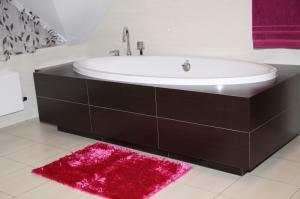 DomTextilu Kúpeľňové predložky v cyklamenovej farbe 5346-14342