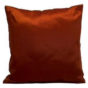 DomTextilu Kvalitná saténová obliečka na vankúš červenej farby 50x60 cm Červená 10129-111176