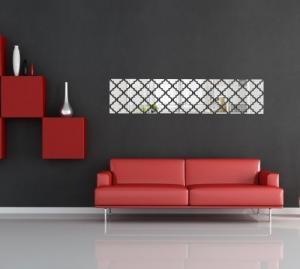 DomTextilu Luxusné akrylové zrkadlá obdĺžnikového tvaru 7967