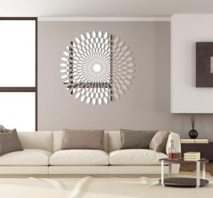 DomTextilu Moderné dekoračné zrkadlo do spálne 7839