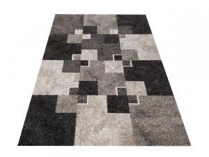 DomTextilu Moderný béžový koberec s motívom štvorcov 38603-181615
