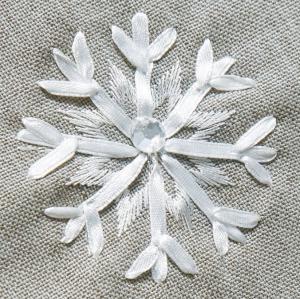 DomTextilu Strieborná štóla na Vianoce s bielymi snehovými vločkami 35x140 12295-157902