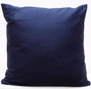 DomTextilu Tmavo modré dekoračné obliečky na vankúše 40x40 cm 4186-124439