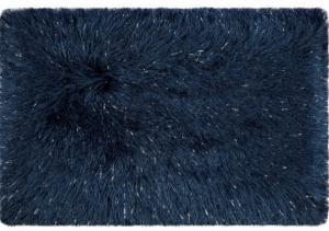 DomTextilu Tmavo modré koberce do kúpeľne a WC Šírka: 50 cm | Dĺžka: 70 cm 12908-37962