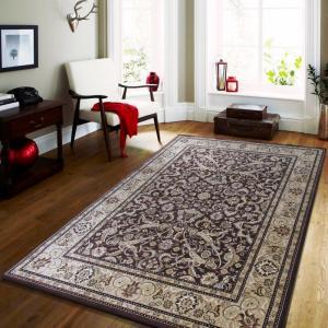 DomTextilu Vintage koberec v hnedej farbe do obývačky 17601-157313