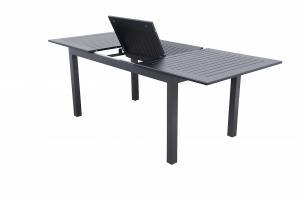 DOPPLER Hliníkový stôl rozkladací EXPERT 150/210x90 cm (antracit)