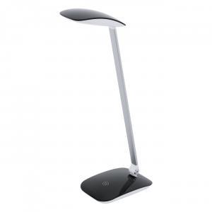 Dotykové svietidlo EGLO CAJERO čierna LED  95696