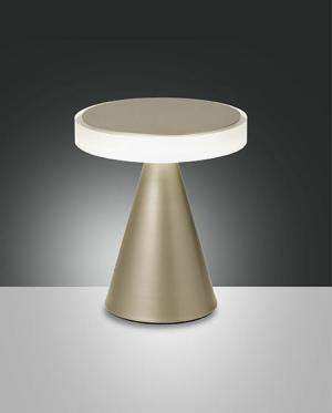 Dotykové svietidlo FABAS NEUTRA TABLE GOLD 3386-34-225