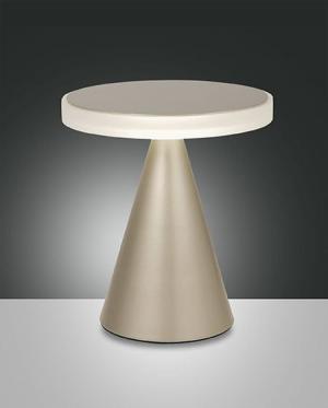 Dotykové svietidlo FABAS NEUTRA TABLE GOLD  3386-35-225