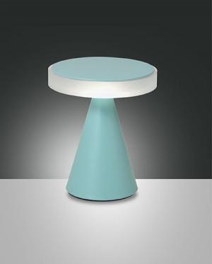 Dotykové svietidlo FABAS NEUTRA TABLE GREEN 3386-34-287