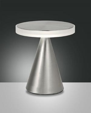 Dotykové svietidlo FABAS NEUTRA TABLE S.NICKEL 3386-35-178