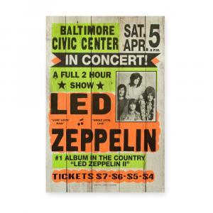 Drevená ceduľa Really Nice Things Led Zeppeling, 60×40 cm