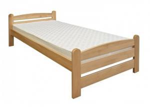 Drevená posteľ KAREL - smrek