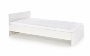 Dřevěná postel Lima 120x200 dvoulůžko - bílé