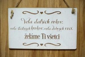 drevená tabuľka T 009