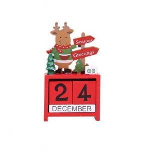 Drevený adventný kalendár Varianta: 2