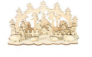 drevený betlehem Varianta: 2