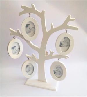 drevený fotorám strom 27 x 35 cm