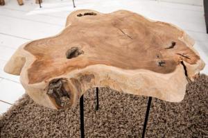 Drevený konferenčný stolík Wild 45 x 40 cm »