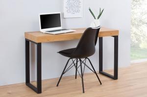 Drevený písací stôl Black Desk 40 x 120 cm – 80 mm »