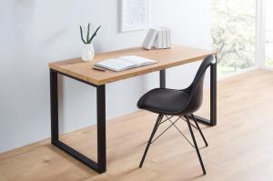 Drevený písací stôl Black Desk 60 x 120 cm - 40 mm »