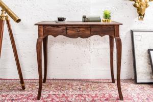Drevený písací stôl Hemingway 39 x 80 cm »