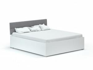 DREVONA03 Manželská posteľ 160x200 ROXI biela