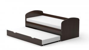 DREVONA09 Detská posteľ wenge REA ABRA