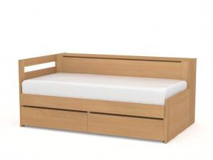 DREVONA09 Rozkladacia posteľ REA CROBAT buk