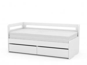 DREVONA09 Rozkladacia posteľ REA HOPPIP biela