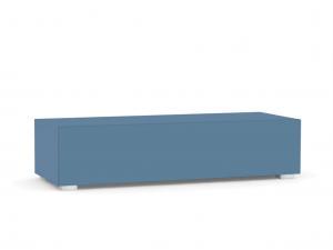 DREVONA09 Skrinka modrá PowBlue REBECCA 2