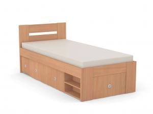 DREVONA09 Študentská posteľ 90 buk REA LARISA