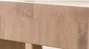 Drewmax Jedálenský stôl - masív ST390 / dub Prevedenie: G 100 x 75 x 260 cm
