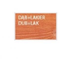 Drewmax Záhradná stolička MO265 farebné prevedenie: Dub + lak