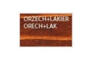 Drewmax Záhradná stolička MO265 farebné prevedenie: Orech + lak