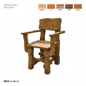 Drewmax Záhradná stolička MO098 Morenie: Orech