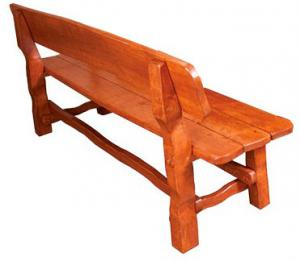 Drewmax Záhradná zostava MO212 Prevedenie: lavica - skladová zásoba - prevedenie bezfarebné