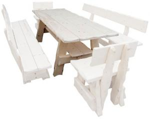 Drewmax Záhradná zostava MO266 Prevedenie: Stôl