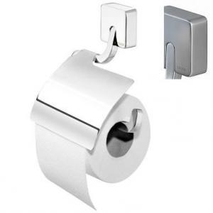 Držiak na toaletný papier IMPULS 3866.3.09, z ocele, s klapkou