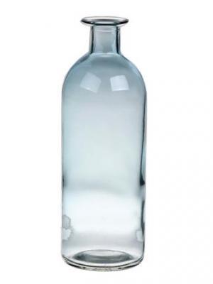 DUIF Sklenená váza CARO 20cm modrá