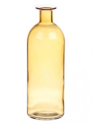 DUIF Sklenená váza CARO 20cm žltá