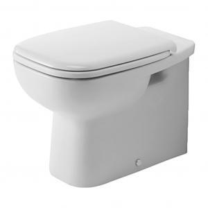 Duravit D-Code - Stojace WC, 355x560 mm, biele 21150900002