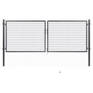 Dvojkrídlová brána Solid antracit Dvojkrídlová Solid | V: 95cm