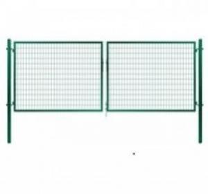 Dvojkrídlová brána Solid zelená Dvojkrídlová Solid   V: 145cm